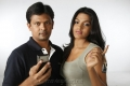 Anand Chakravarthy, Dhansika in 143 Hyderabad Telugu Movie Stills