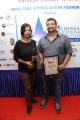 Vikram Vedha Director Pushkar Gayathri @ 15th Chennai International Film Festival Closing and Award Function Stills