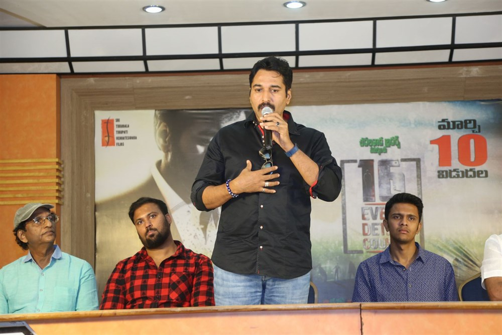 Actor Rahman @ 16-Every Detail Counts Pre-Release Press Meet Stills