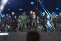 Actress Amy Jackson Dance Performance @ 2.0 Audio Launch Stills Dubai