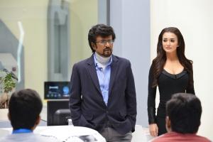 Rajinikanth, Amy Jackson in 2.0 Movie HD Images