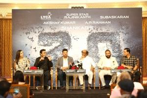 2.0 Movie Press Meet Dubai Photos