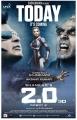 Rajinikanth, Amy Jackson, Akshay Kumar in 2.0 Movie Release Today Posters