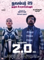 Amy Jackson, Rajinikanth in 2.0 Movie Release Posters