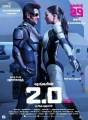 Rajinikanth, Amy Jackson in 2.0 Movie Release Posters