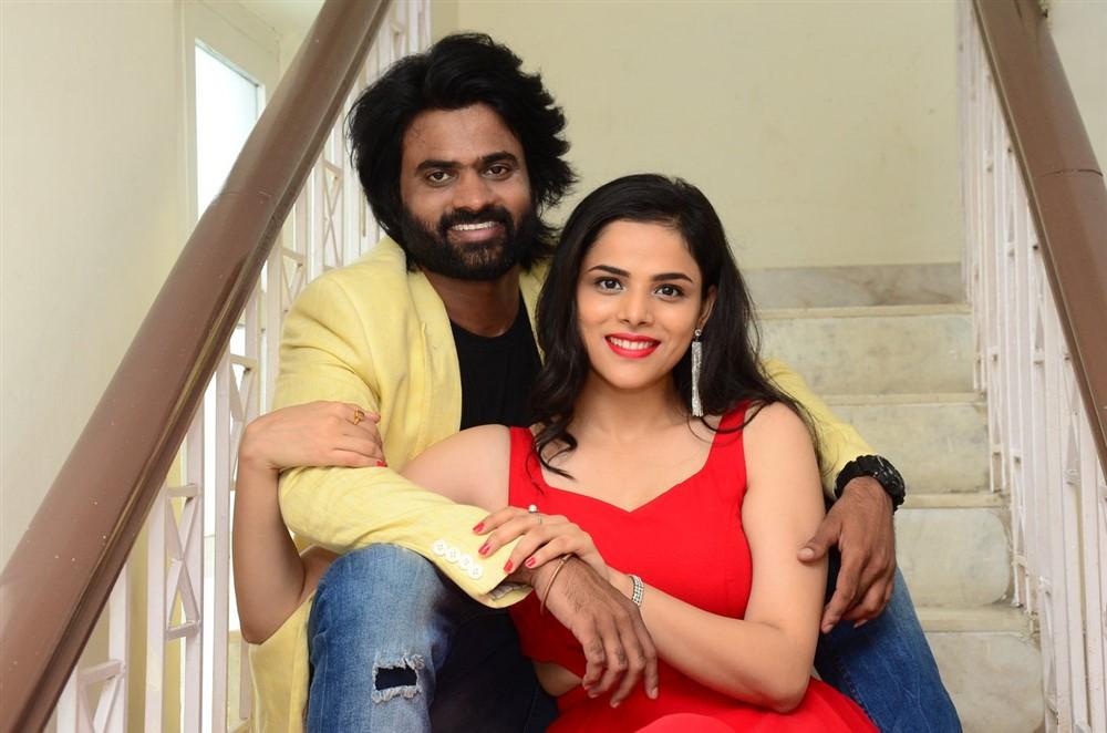 Sri Pawar, Krithi Garg @ 2 Hours Love Movie Press Meet Stills