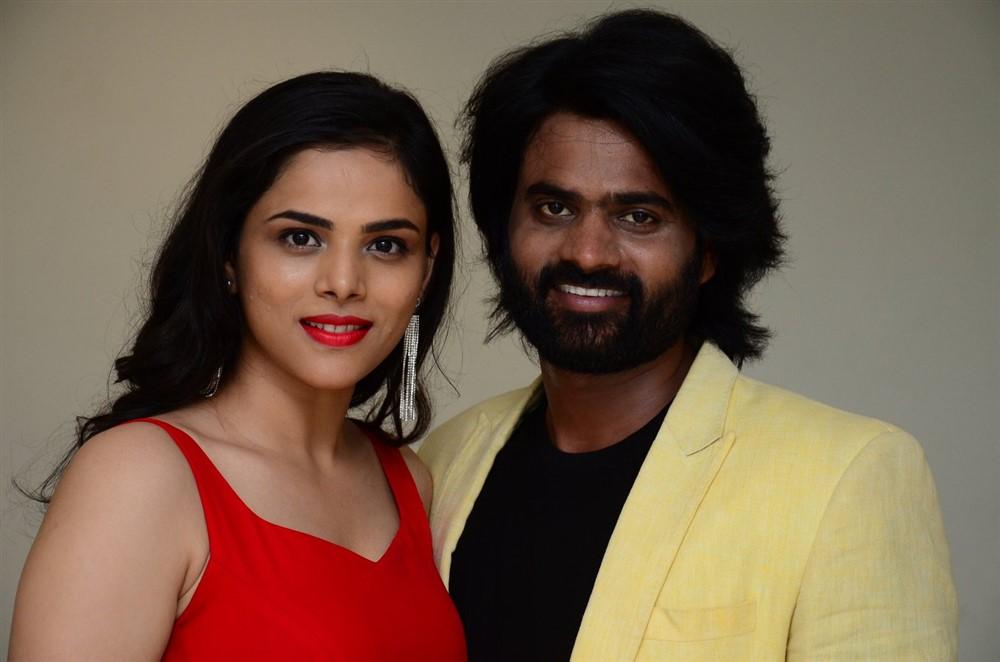 Sri Pawar @ 2 Hours Love Movie Press Meet Stills