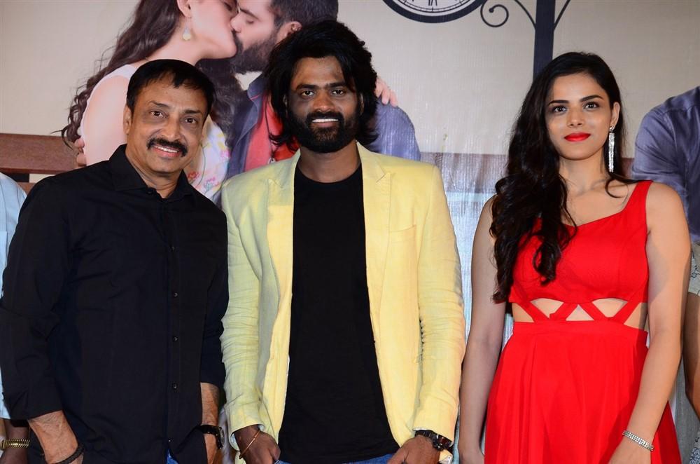 Raj Kandukuri, Sri Pawar, Krithi Garg @ 2 Hours Love Movie Press Meet Stills