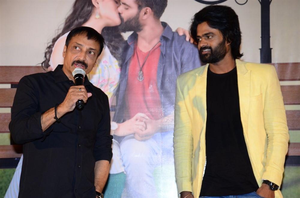 Raj Kandukuri, Sri Pawar @ 2 Hours Love Movie Press Meet Stills