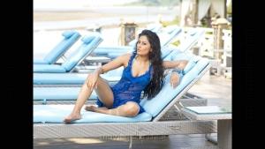 Model Nidhi Hot Photo Shoot @ CCl Calendar 2012