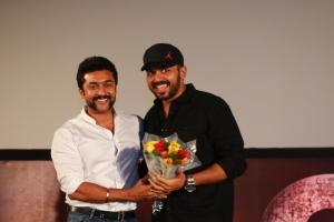 Suriya, Karthi @ 24 Movie Audio Launch Stills