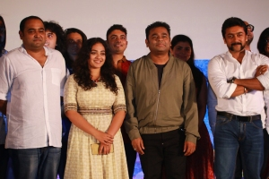Vikram Kumar, Nithya Menon, AR Rahman, Suriya @ 24 Movie Audio Launch Stills