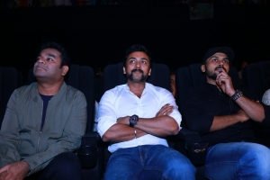AR Rahman, Suriya, Karthi @ 24 Movie Audio Launch Stills