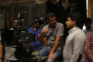 Tirru, Suriya @ 24 Movie Shooting Spot Stills