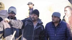 Tirru, Vikram Kumar @ 24 Movie Shooting Spot Stills