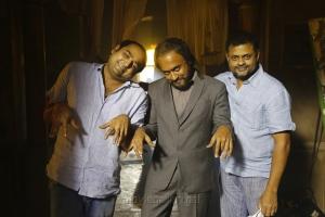 Vikram Kumar, Suriya, Tirru @ 24 Movie Shooting Spot Stills