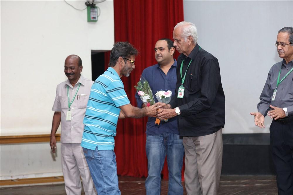24 Movie Team @ 14th Chennai International Film Festival Photos