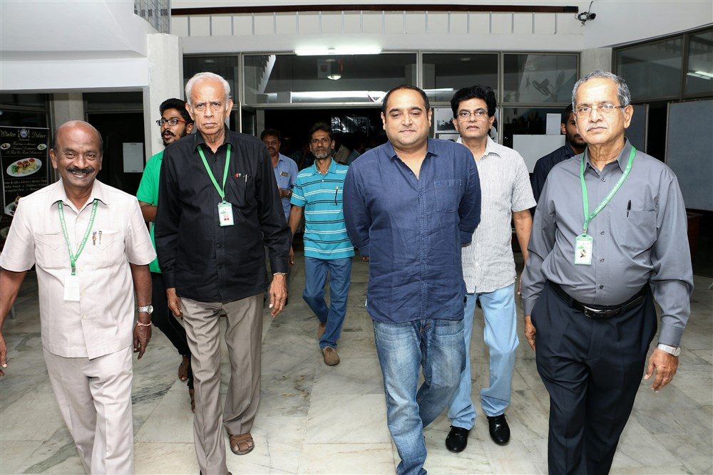 24 Movie Team @ 14th Chennai International Film Festival Photos