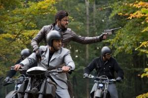 Ajay, Suriya in 24 Movie Working Stills