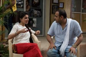 Samantha, Vikram Kumar @ 24 Movie Working Stills