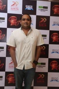 Director Vikram Kumar @ 24 Tamil Movie Press Meet Photos