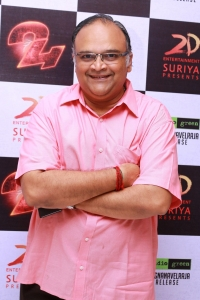 Mohan V. Raman @ 24 Tamil Movie Press Meet Photos