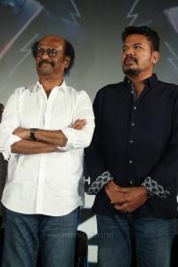 Rajinikanth, Shankar @ 2.0 Movie Trailer Launch Function Stills
