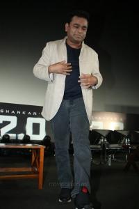 AR Rahman @ 2.0 Movie Trailer Launch Function Stills