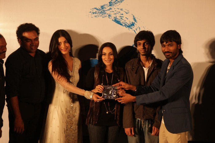 3 Movie Audio Launch Stills