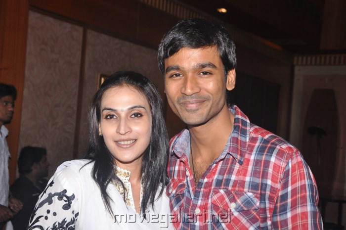 Aishwarya Dhanush in 3 Movie Audio Success Party Pictures