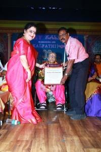 Sudha Mahendra, Mrs YG Rajalakshmi Parthasarathy @ 32nd Margazhi Mahotsav Inauguration & Award Function Stills