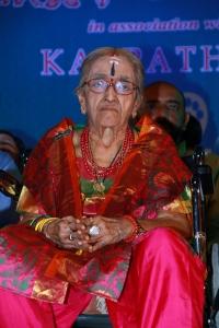 Mrs YG Rajalakshmi Parthasarathy @ 32nd Margazhi Mahotsav Inauguration & Award Function Stills