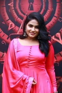 Actress Shruthi Selvam @ 3:33 Movie Press Meet Stills