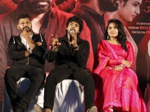 Sandy, Shruthi Selvam @ 3:33 Movie Press Meet Stills