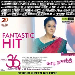 Actress Jyothika in 36 Vayadhinile Movie Walpapers