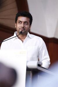 Actor Suriya @ 36 Vayathinile Movie Success Meet Photos