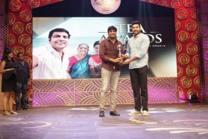 Sathish, Jayam Ravi @ 3rd Annual TEA Awards 2016 Photos