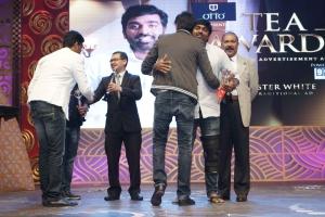 Vijay Sethupathi for Minister White @ 3rd Annual TEA Awards 2016 Photos