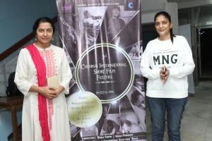 Suhasini, Sudha Kongara @ 3rd Chennai International Short Film Festival Closing Ceremony Stills