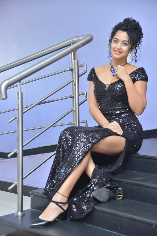 Actress Anketa Maharana @ 4 Letters Movie Audio launch Stills