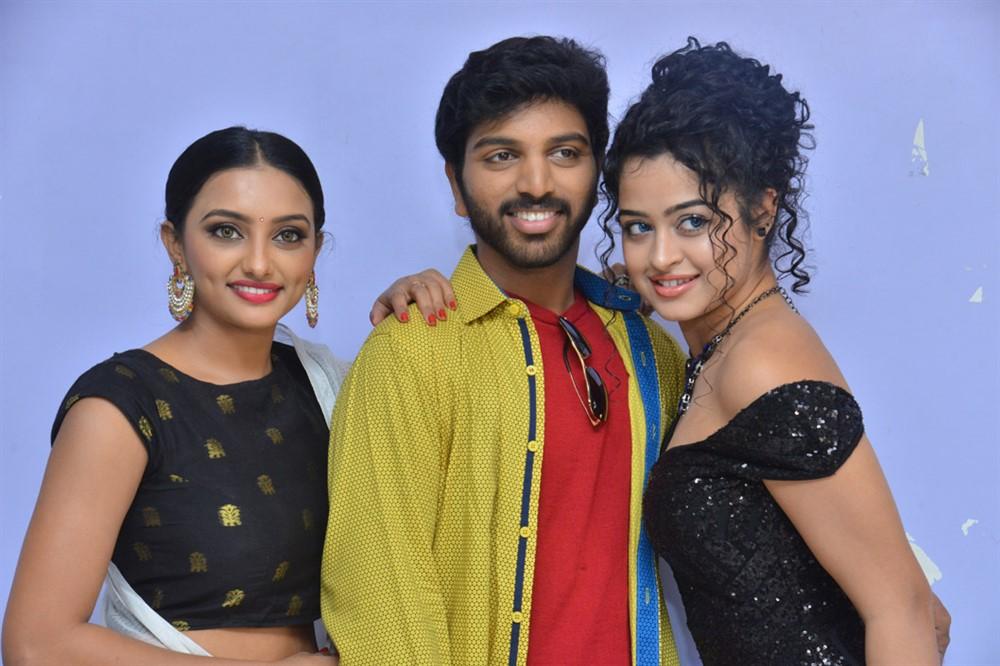 Tuya Chakraborty, Eswar, Anketa Maharana @ 4 Letters Movie Audio launch Stills