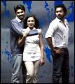 Nishan,Asif Ali,Nithya Menon in 50 Percent Love Movie Stills