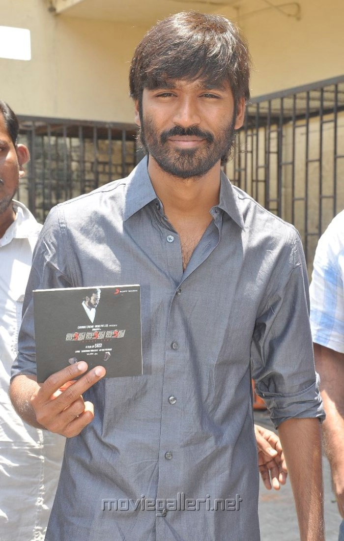 Actor Dhanush at 555 Movie Audio Launch Stills