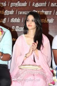 Actress Vedika at 555 Movie Audio Launch Stills