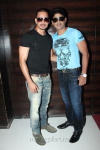 Actor Bharath, Shaam at 555 Movie Audio Launch Stills