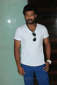 Prithvi Pandiarajan at 555 Movie Audio Launch Stills