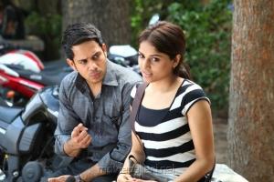 Bharath, Mrithika in 555 Movie Stills