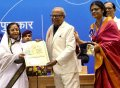 K. Balachander @ 58th National Film Awards Function