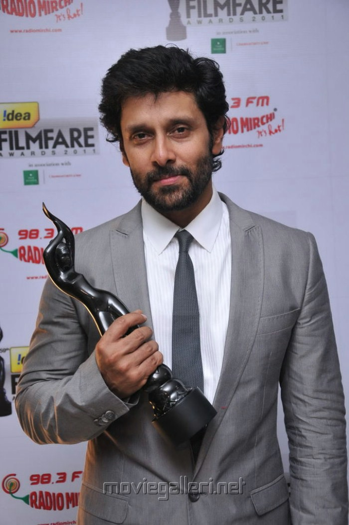 Picture 262790 Chiyaan Vikram At 59th Filmfare Awards