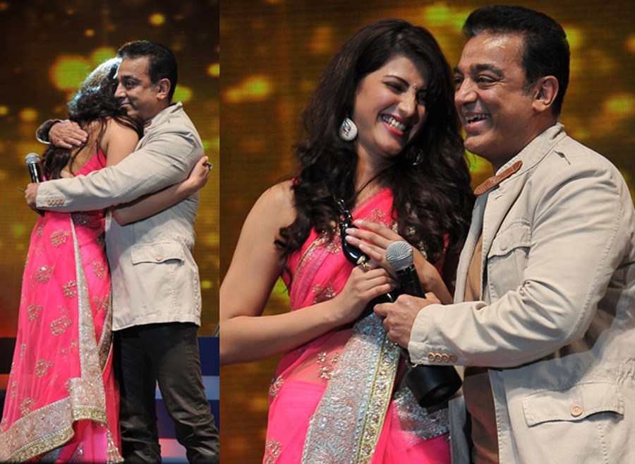 picture 266546 kamal shruti hassan at 59th south indian